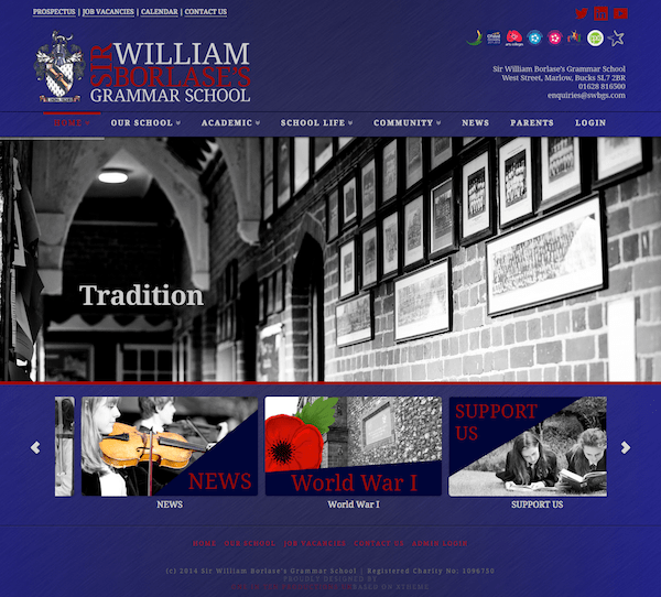 Sir William Borlase's Grammar School