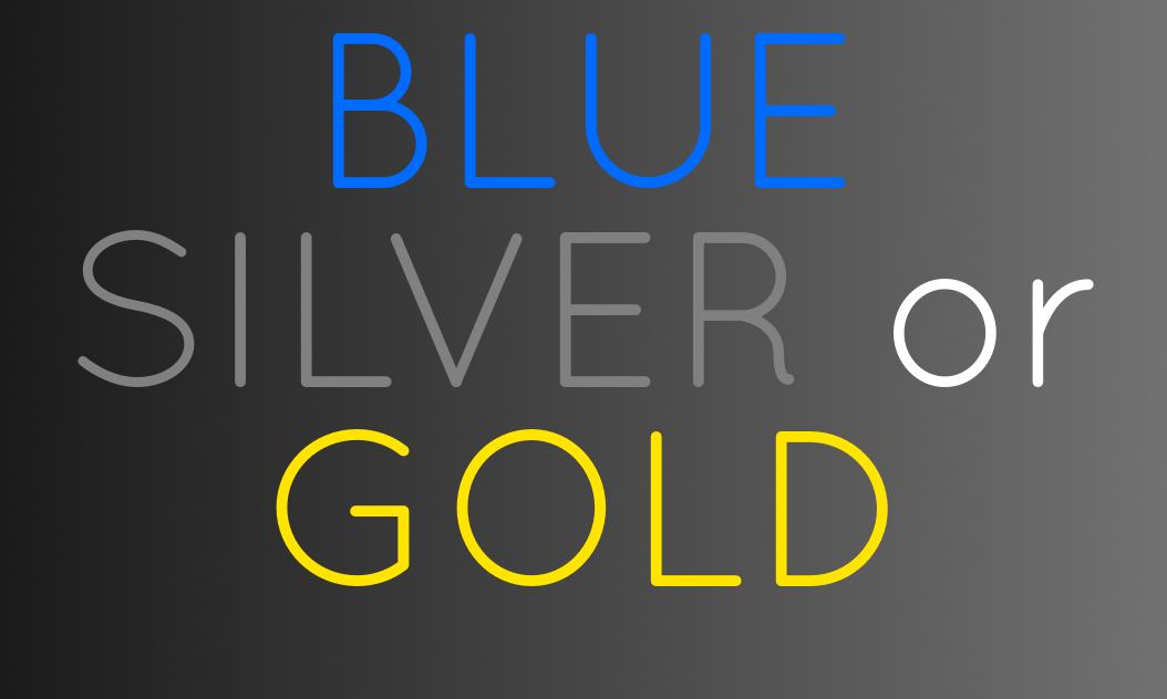 bluesivergold