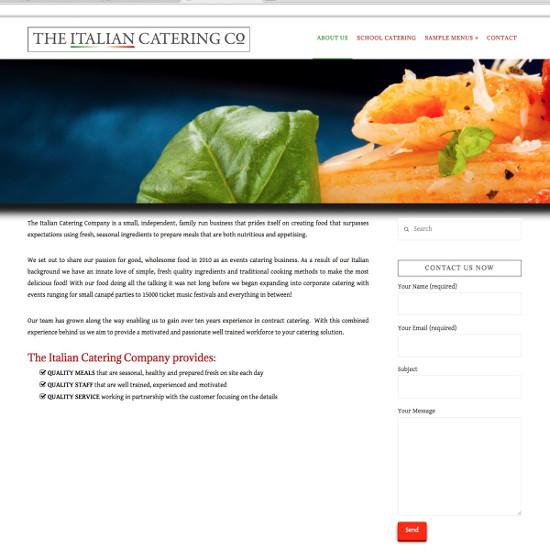 Italian Catering Company